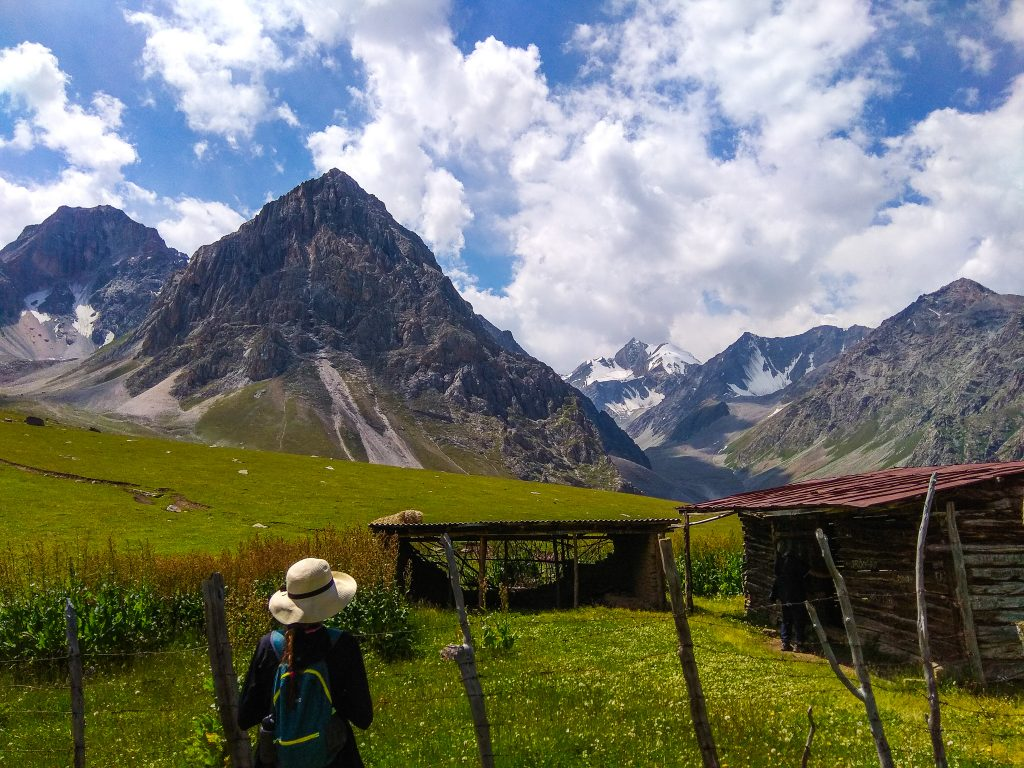 A day trip from Osh to the Mountains of Kyrgyz Ata National Park of Kyrgyzstan