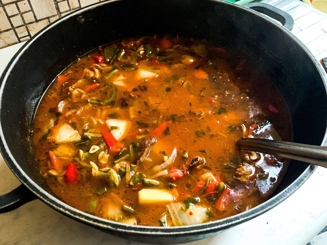 soup for lagman dish