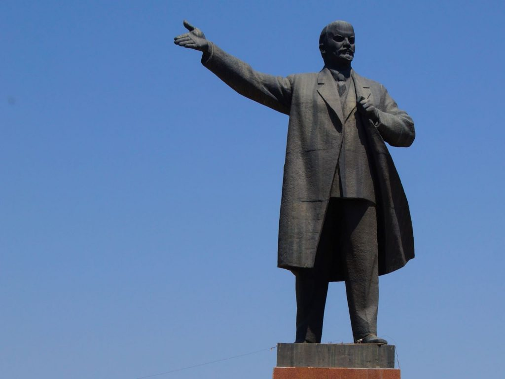 This monument is explored during the Osh city walking tour